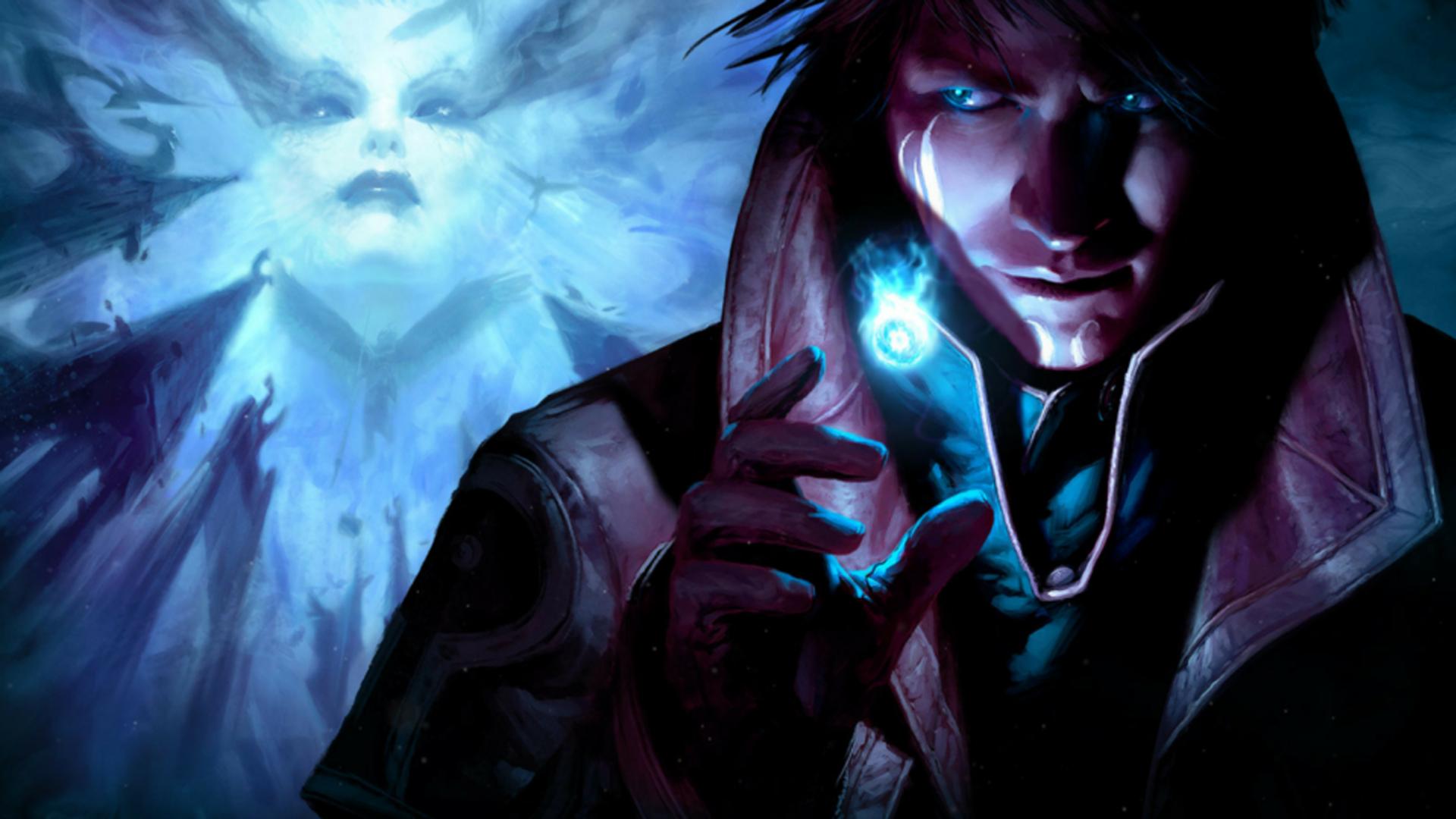 Dungeons & Dragons warlock.