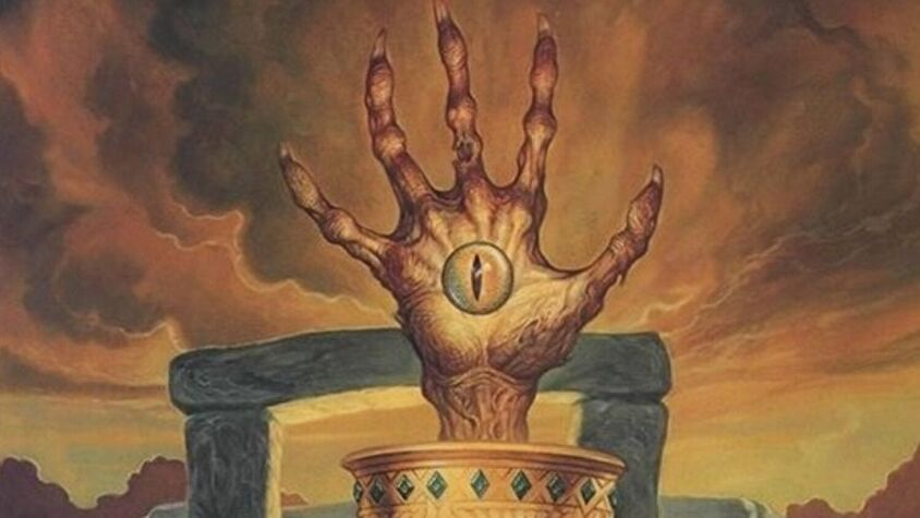 Dungeons & Dragons film features the eye and the hand of Vecna.
