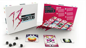 13 Monsters board game layout