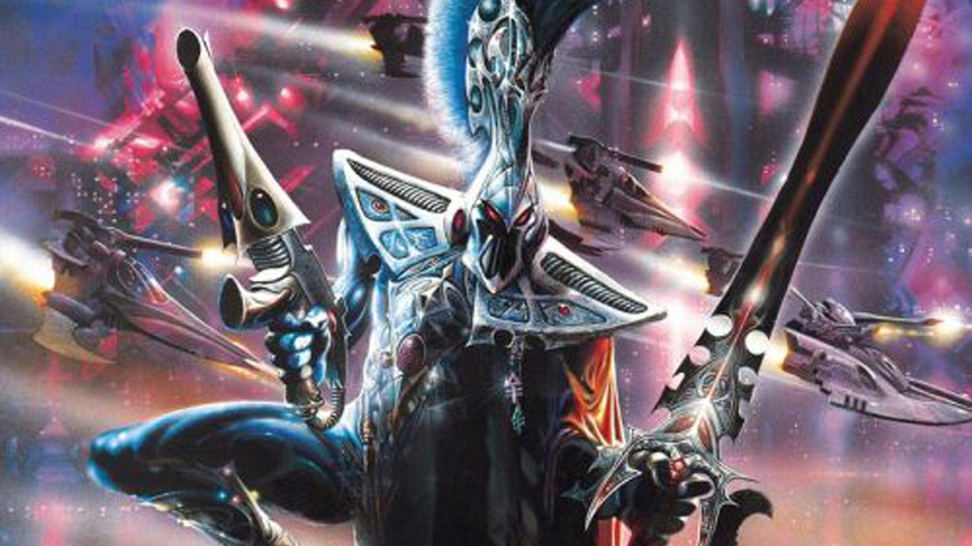 Third Eldar Codex Cover Warhammer 40K miniatures game