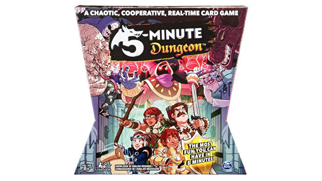 5-Minute Dungeon quick board game box