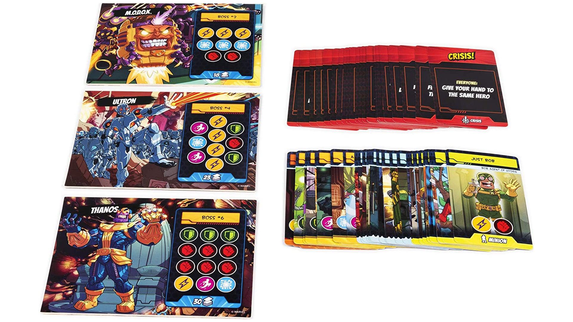 5 Minute Marvel cards