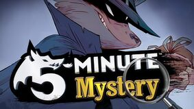 5-Minute Mystery board game artwork