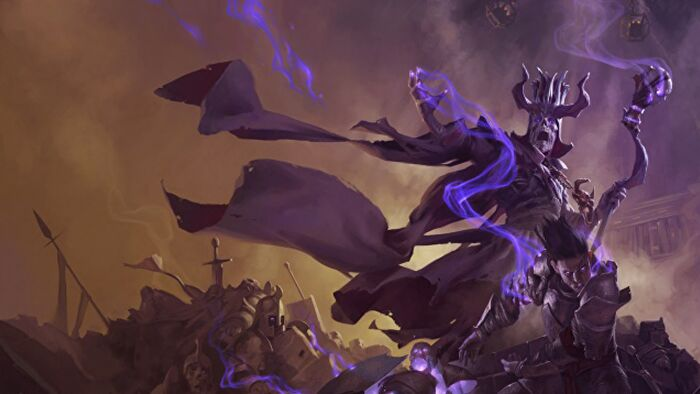 Dungeons & Dragons Asserac the lich king.