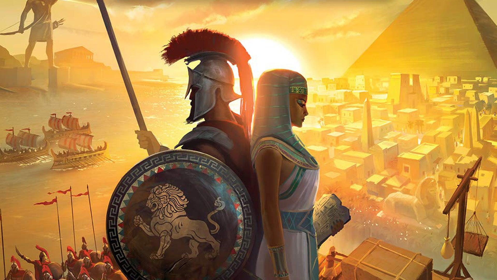 7 Wonders Duel board game artwork