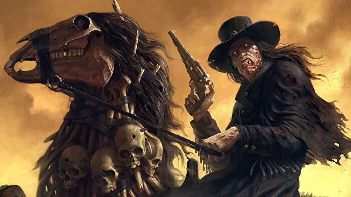 Deadlands, a weird-western tabletop RPG.
