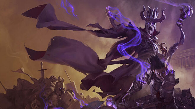 Dungeons & Dragons, the first and one of the best tabletop RPGs. This image depicts Arch Lich Asserac, the antagonist of infamous D&D adventure module the Tomb of Horrors.