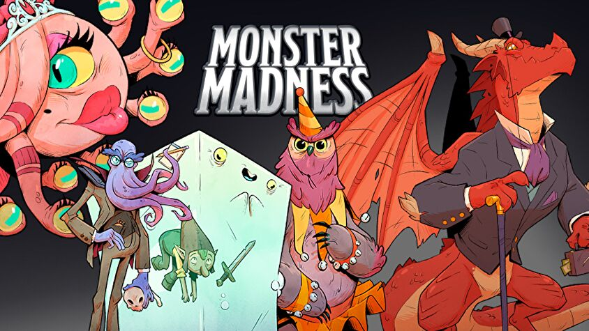 Dungeons & Dragons Dungeon Mayhem: Monster Madness artwork.