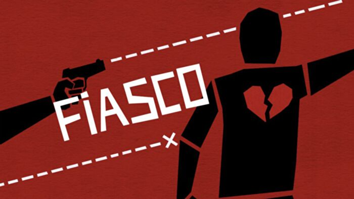 Fiasco, an easy tabletop RPG game that's fantastic for generating stories.