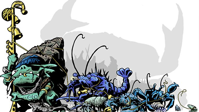 Goblin Quest, a one-page tabletop RPG game from Grant Howitt.