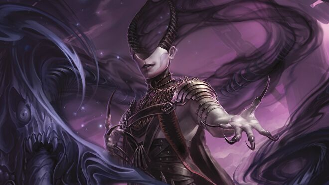 Magic: The Gathering - Theros: Beyond Death's nightmare weaver planewalker Ashiok.
