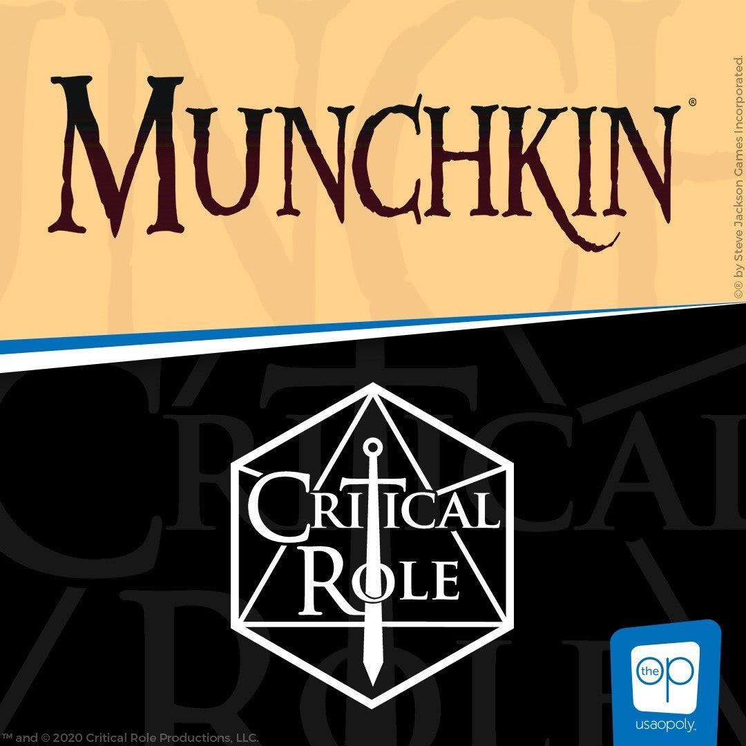 Munchkin: Critical Role board game artwork