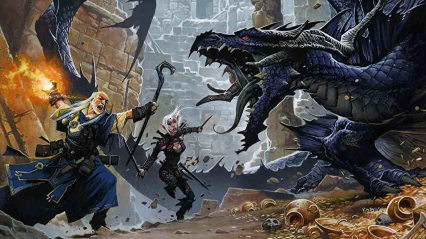 Pathfinder tabletop RPG game
