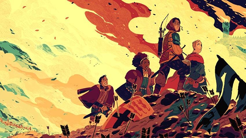 Quest, one of the easiest tabletop RPG games to play.