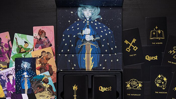 Quest, a fantastically easy storytelling RPG perfect for children and beginners.