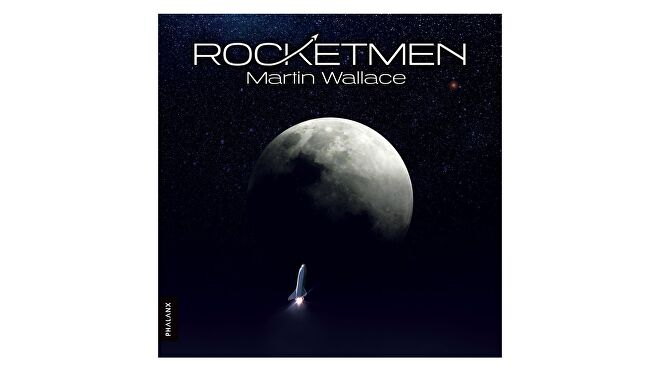 Rocketmen, the upcoming space launch board game from strategy heavyweight Martin Wallace.