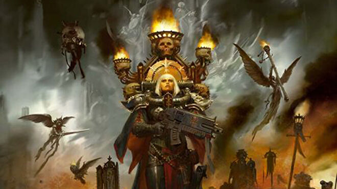 Sisters of Battle Codex cover Warhammer 40K miniatures game