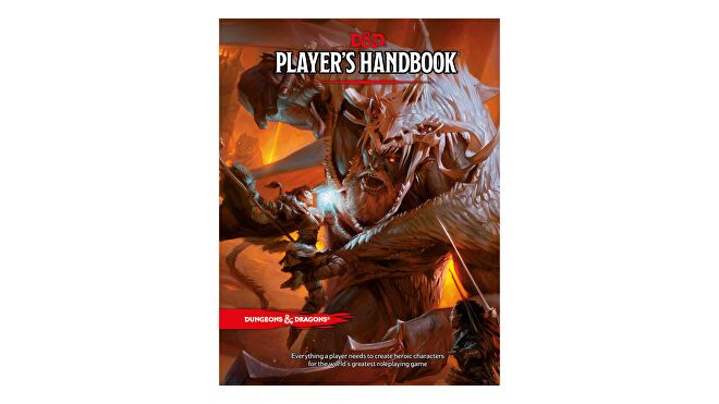 Dungeons & Dragons 5E book Player's Handbook