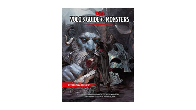 Dungeons & Dragons 5E book Volo's Guide to Monsters