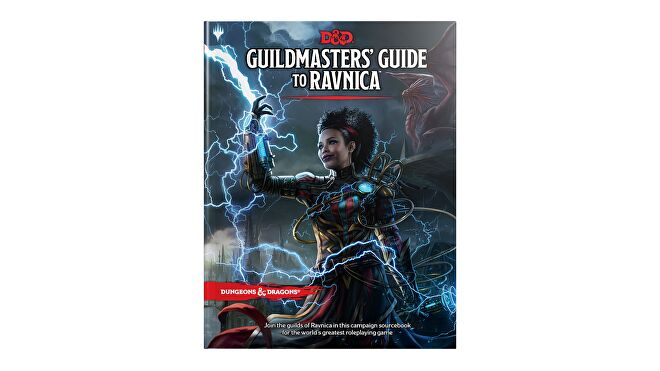 Dungeons & Dragons 5E book Guild Master's Guide to Ravnica