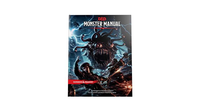 Dungeons & Dragons 5E book Monster Manual