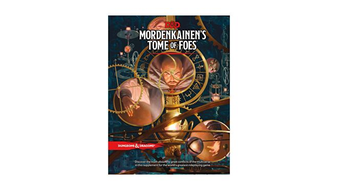 Dungeons & Dragons 5E book Mordenkainen's Tome of Foes