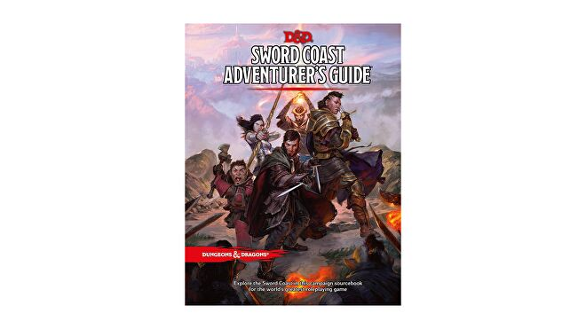 Dungeons & Dragons 5E book Sword Coast Adventurer's Guide