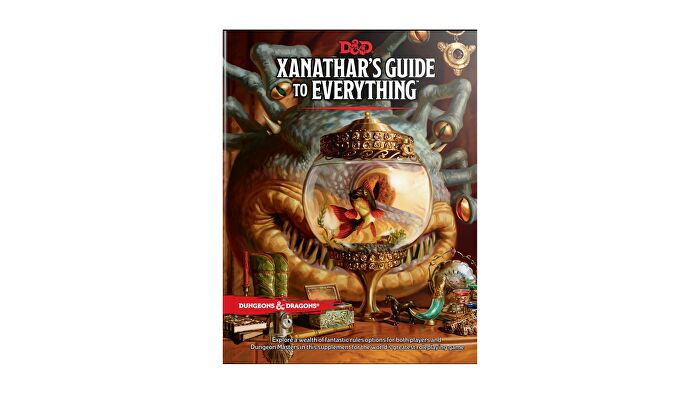 Dungeons & Dragons 5E book Xanathar's Guide to Everything.