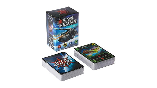 Photograph of the Star Realms base deck