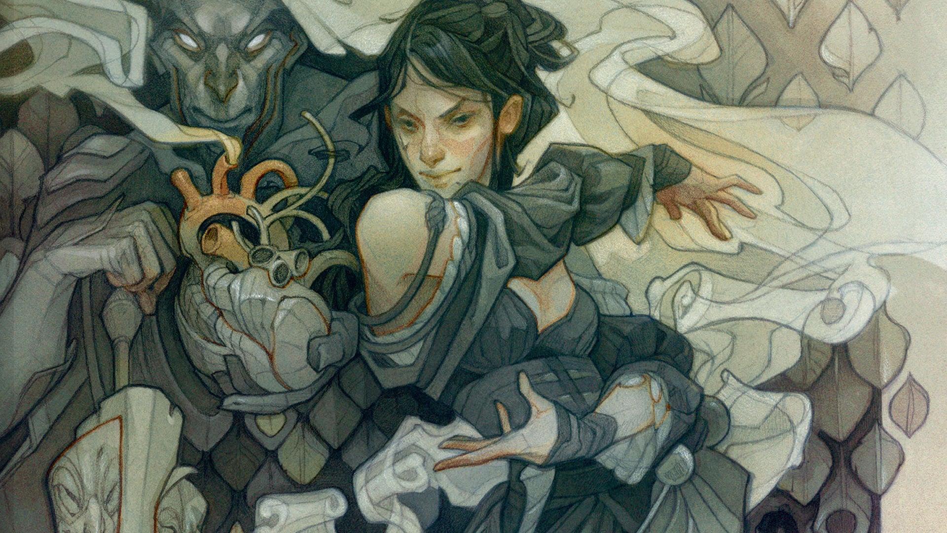 Tasha's Cauldron of Everything D&D RPG alternative cover