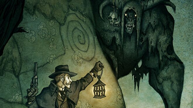 Artwork from Vaeson: Nordic Horror Roleplaying.
