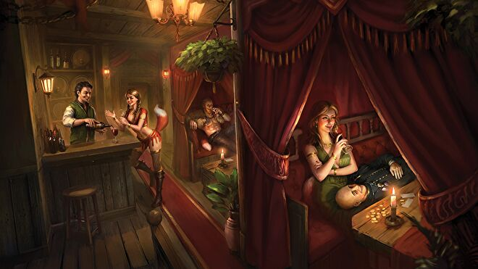 A Book of Tales RPG artwork