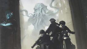 Image for New Cthulhu mythos RPG Against The Gods Themselves will span both time and several media formats