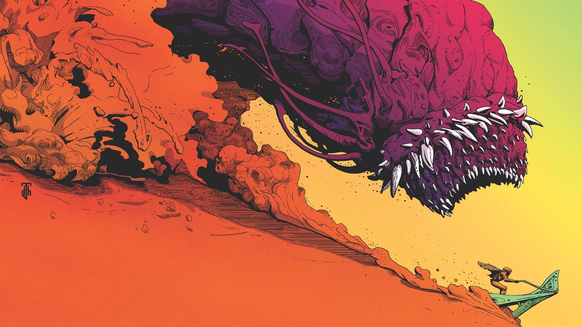 Acid Death Fantasy RPG cover artwork