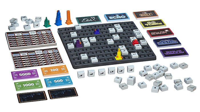 Acquire family board game gameplay layout