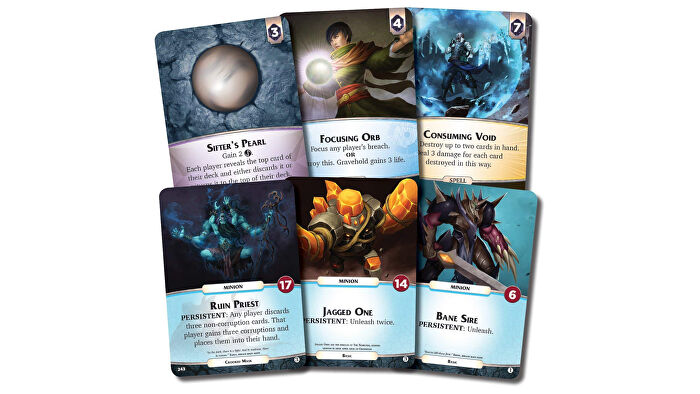 Aeons End co-op board game cards