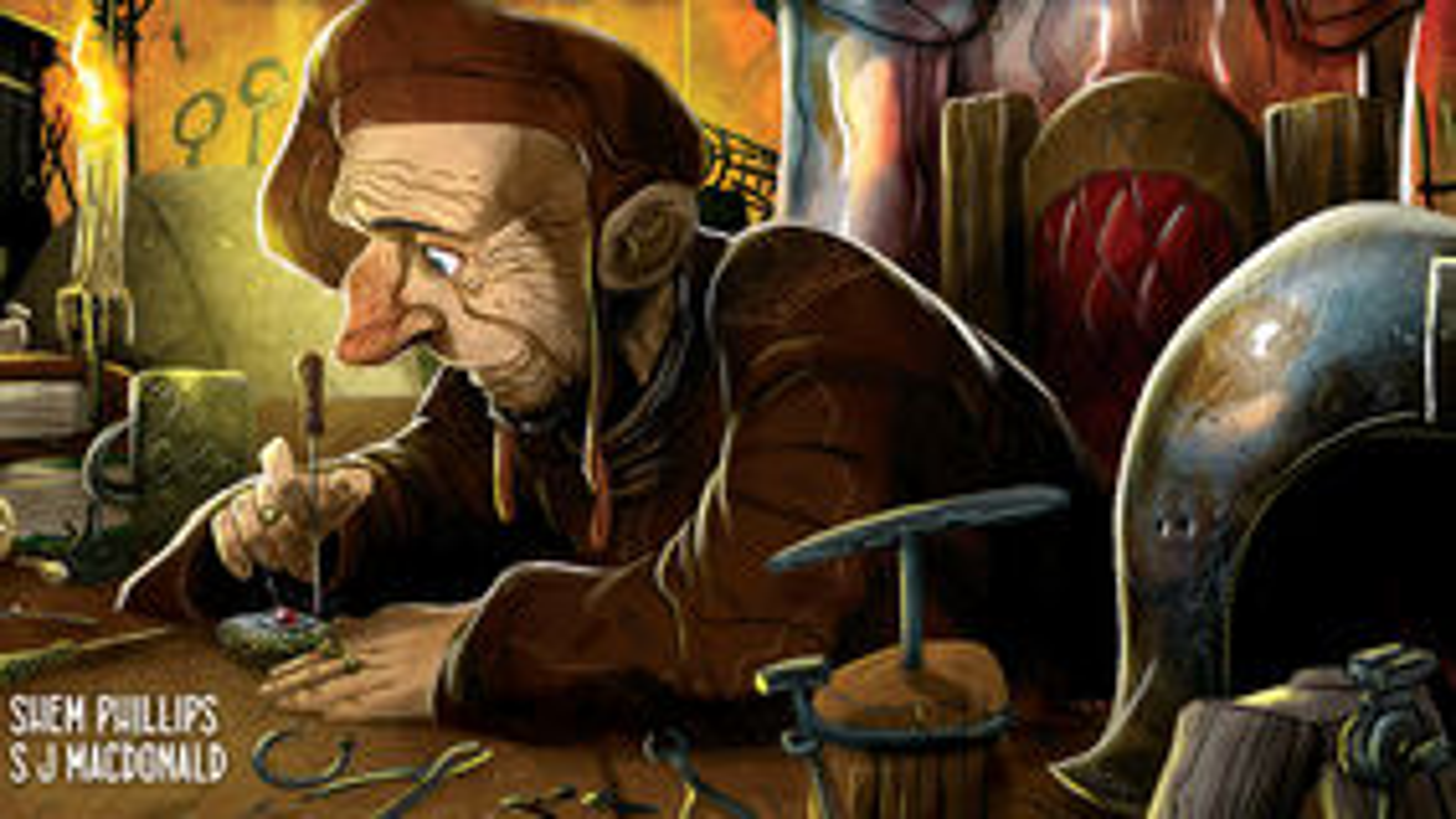 Age of Artisans board game artwork