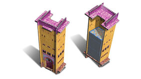 Alhambra Big Box: Second Edition tile tower