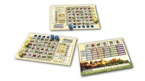 Alhambra: Roll & Write board game layout 2