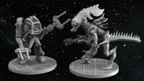 Aliens: Another Glorious Day in the Corps, Get Away From Her You B miniatures