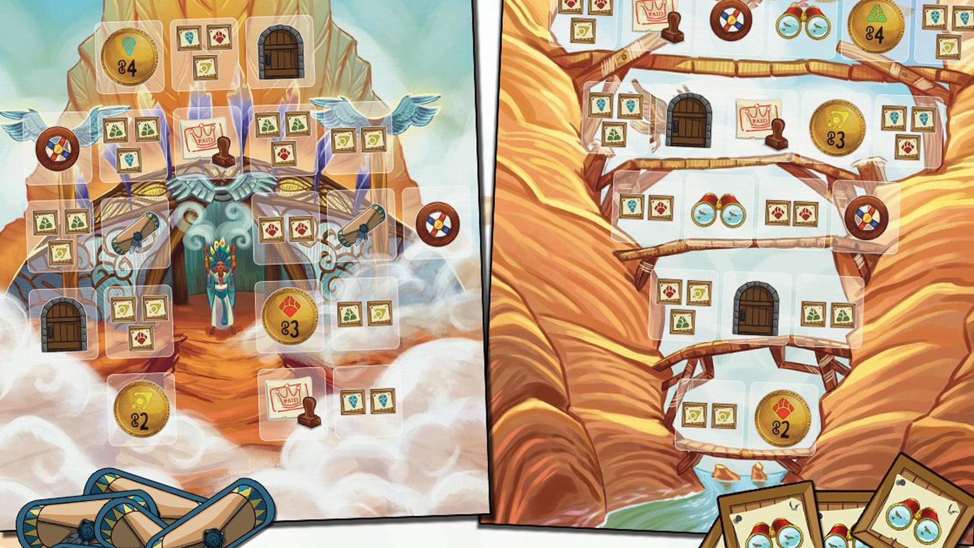Almanac: The Dragon Road board game page