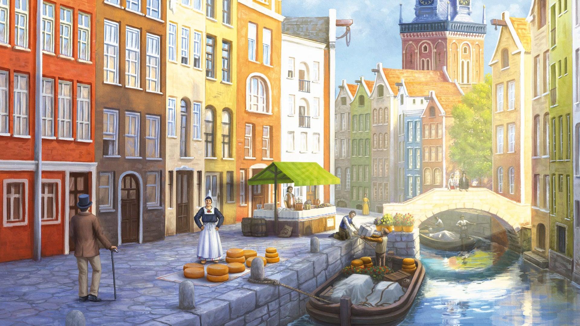Amsterdam board game artwork