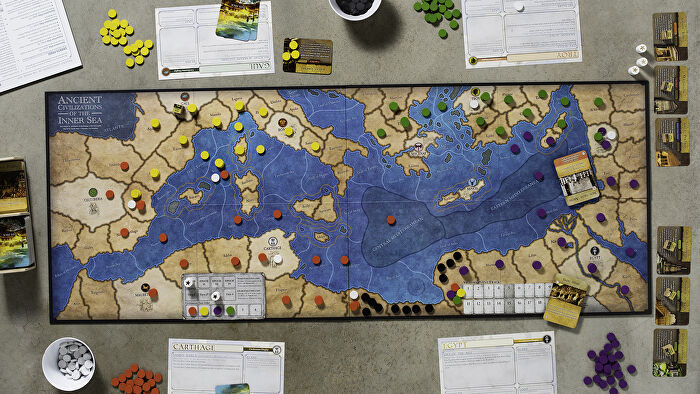 Ancient Civilizations of the Inner Sea board game gameplay