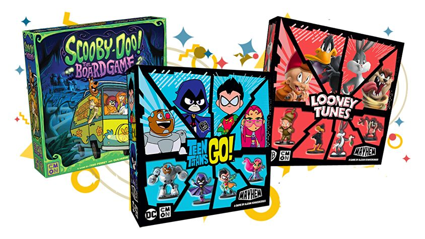 Animation Collection board game promo image