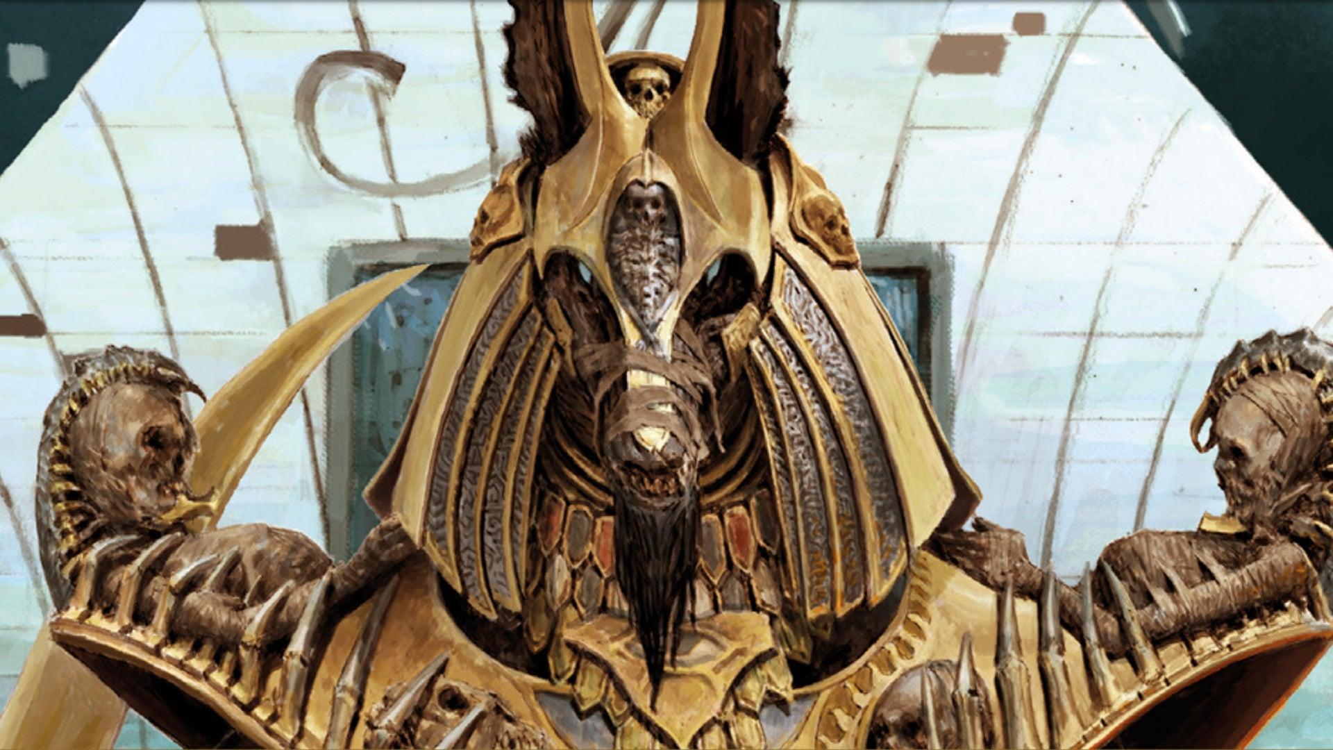 Ankh: Gods of Egypt board game artwork