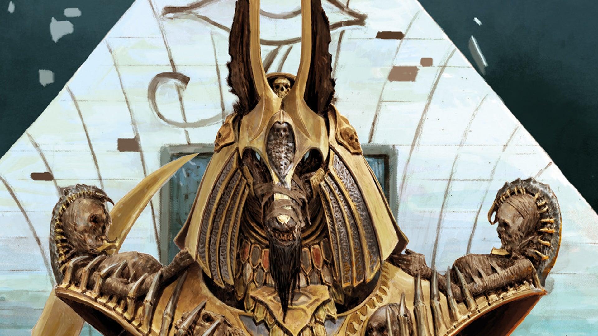 Anubis art 2 Ankh: Gods of Egypt board game