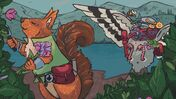 Image for Apawthecaria mixes two tabletop RPGs in its Scottish critter cauldron to produce a new solo game