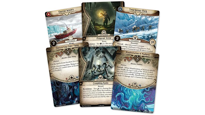 Arkham Horror: The Card Game Edge of the Earth cards 2