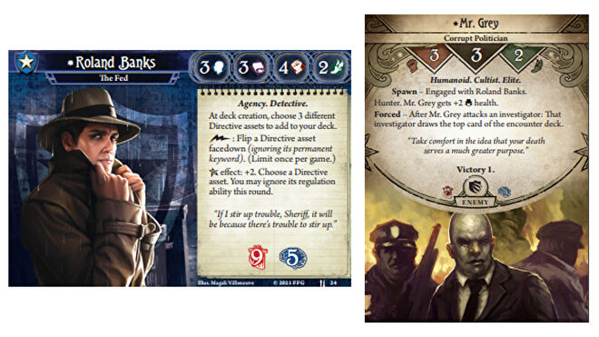 Arkham Horror: The Card Game - parallel Roland Banks