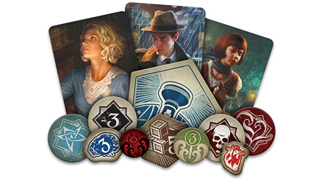 Arkham Horror: The Card Game Revised Core Set tokens